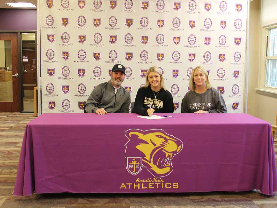 Leah's College Signing