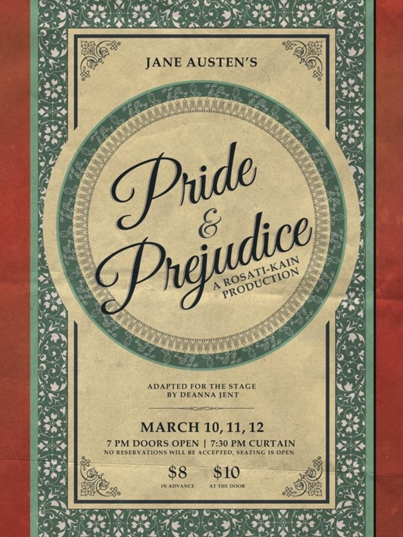 Pride Prejudice Poster