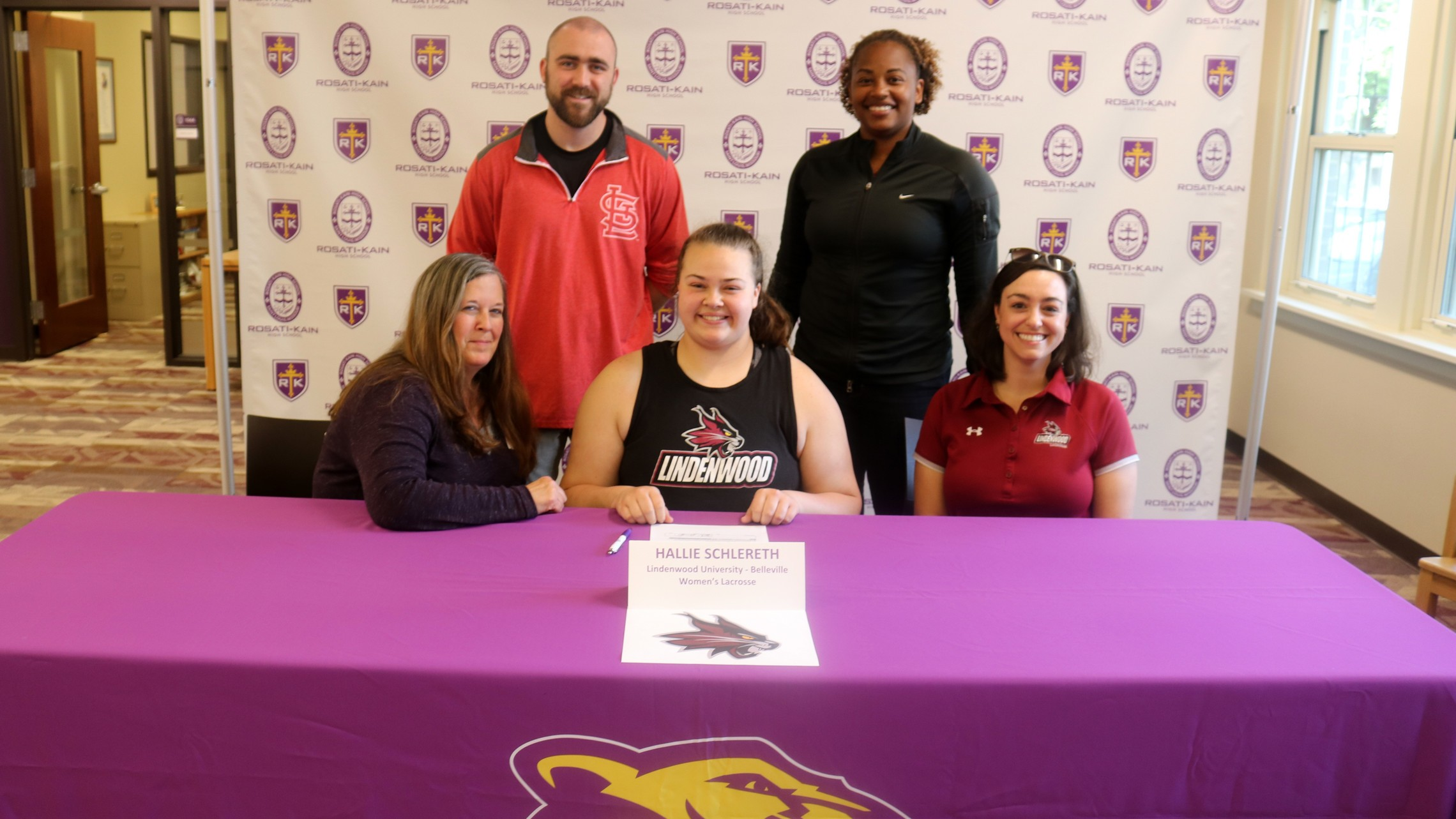 Lacrosse College Signing H. Schlereth