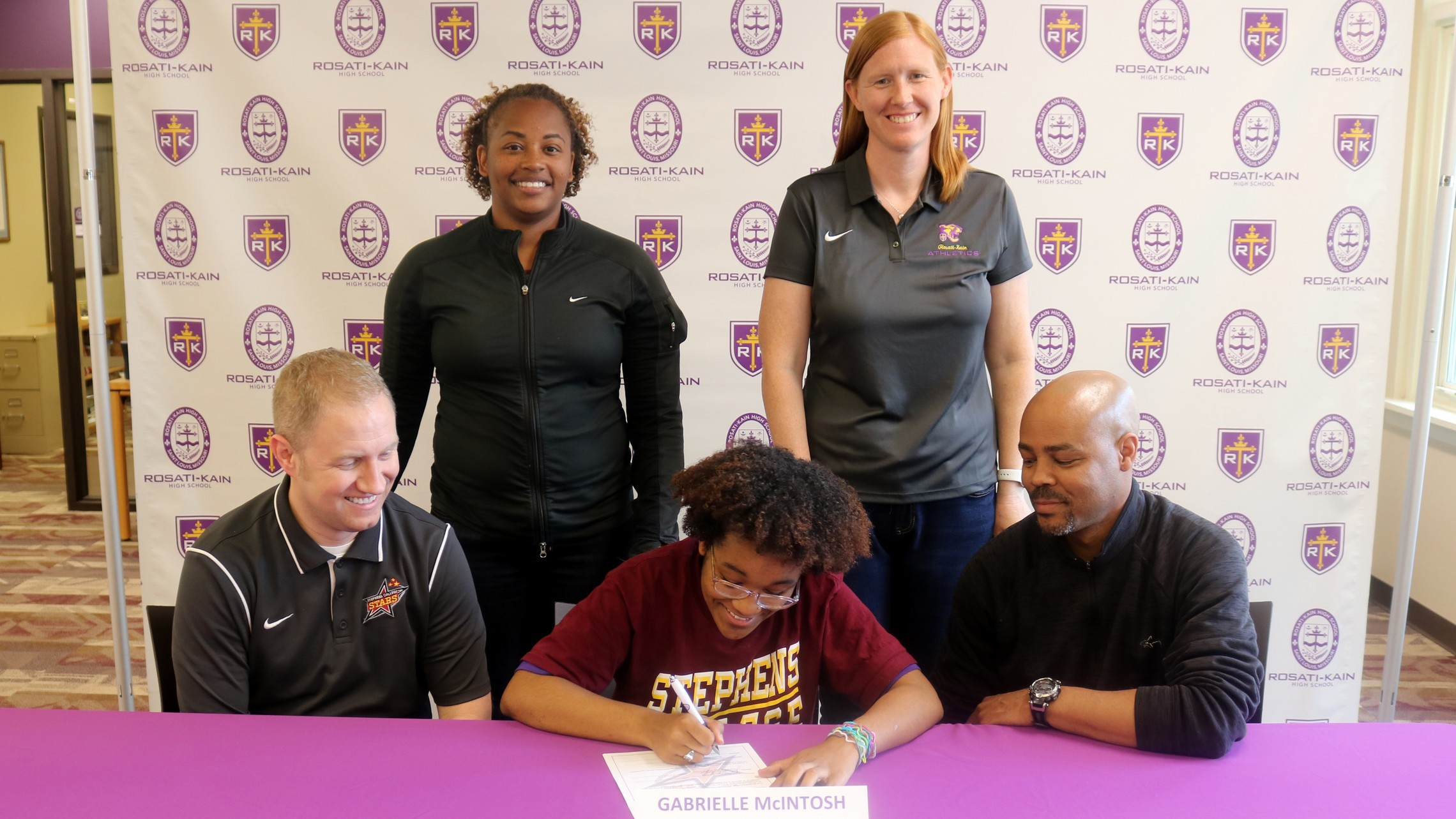 Track College Signing G. McIntosh