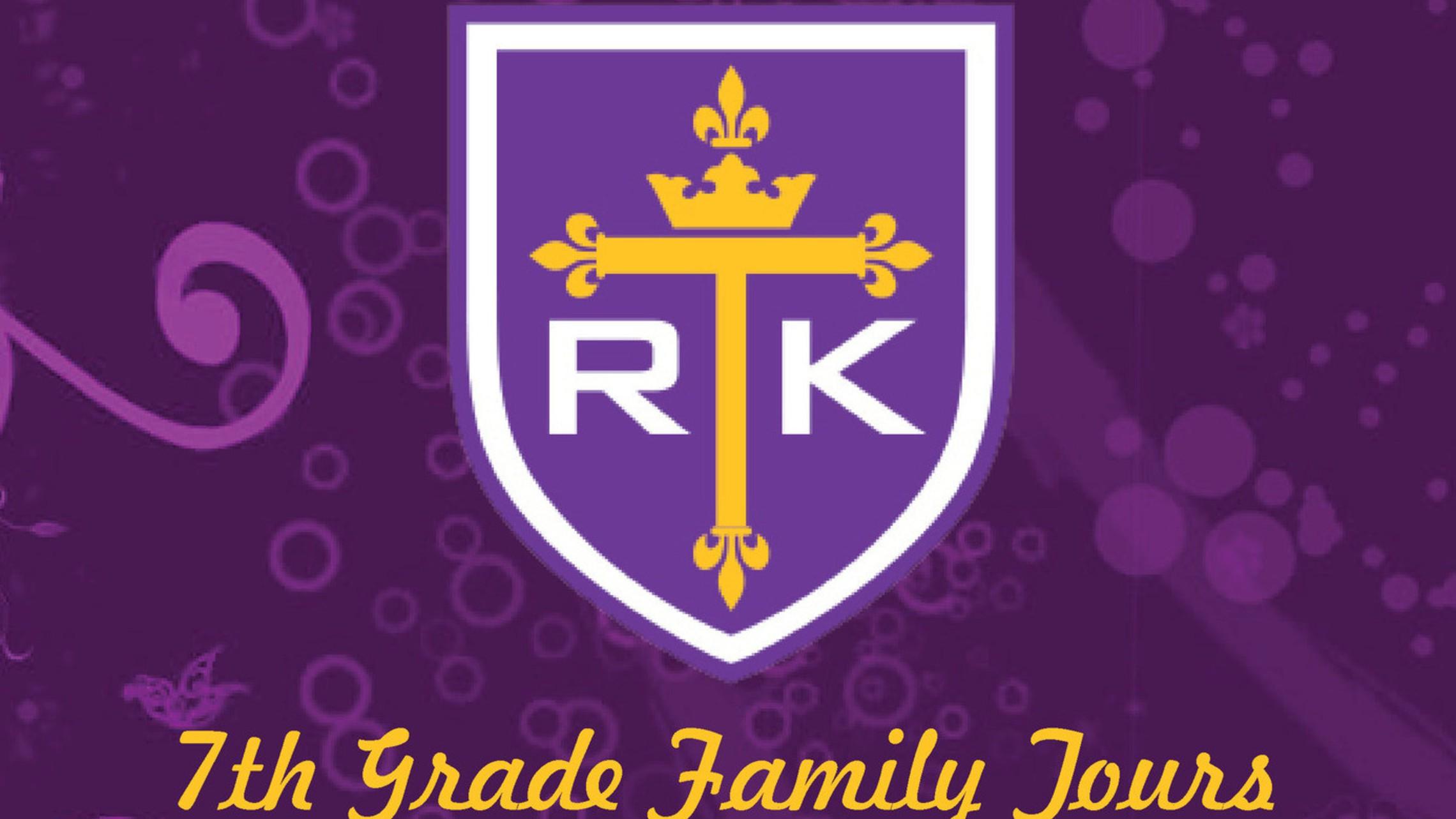 7th Grade Family Tours