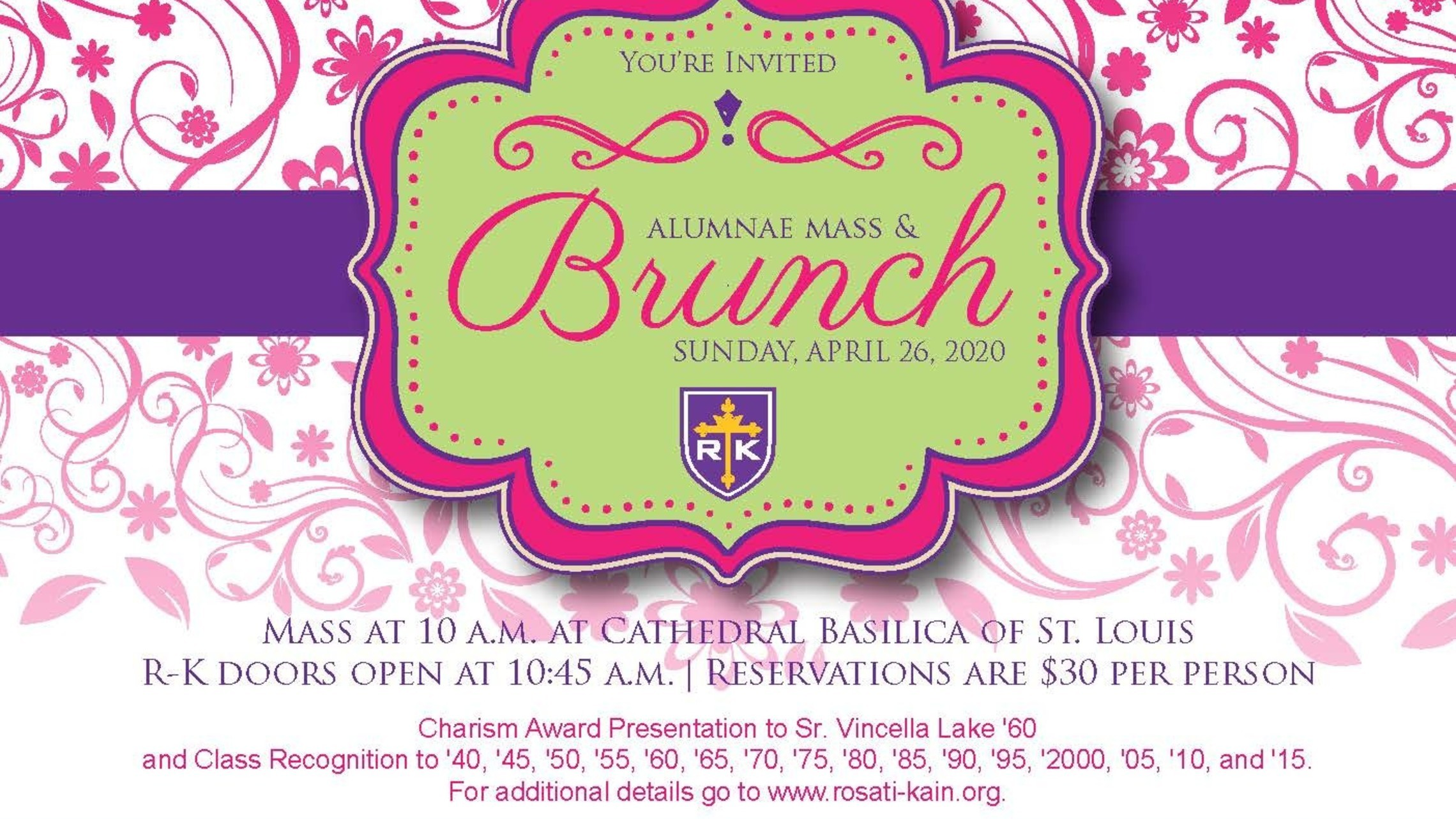 Alumna Mass Brunch