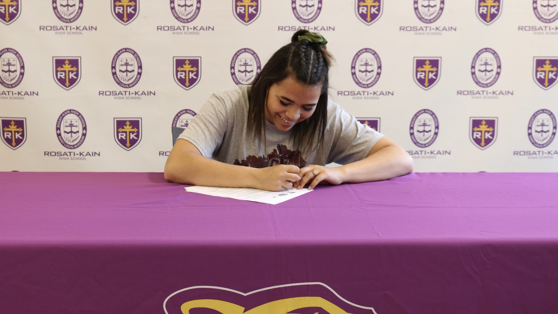 Laya's College Signing Day