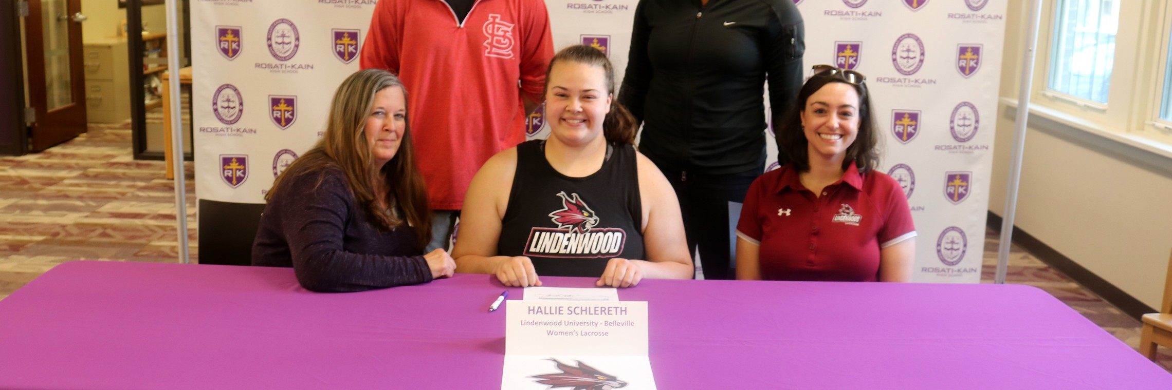 Lacrosse College Signing H. Schlereth