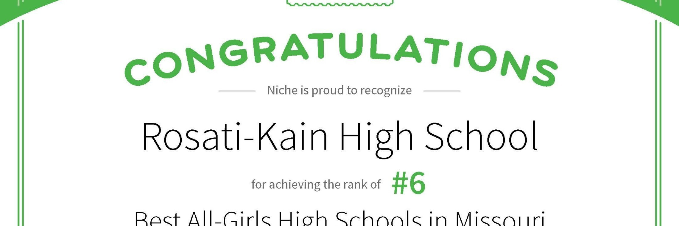 Best All Girls High School
