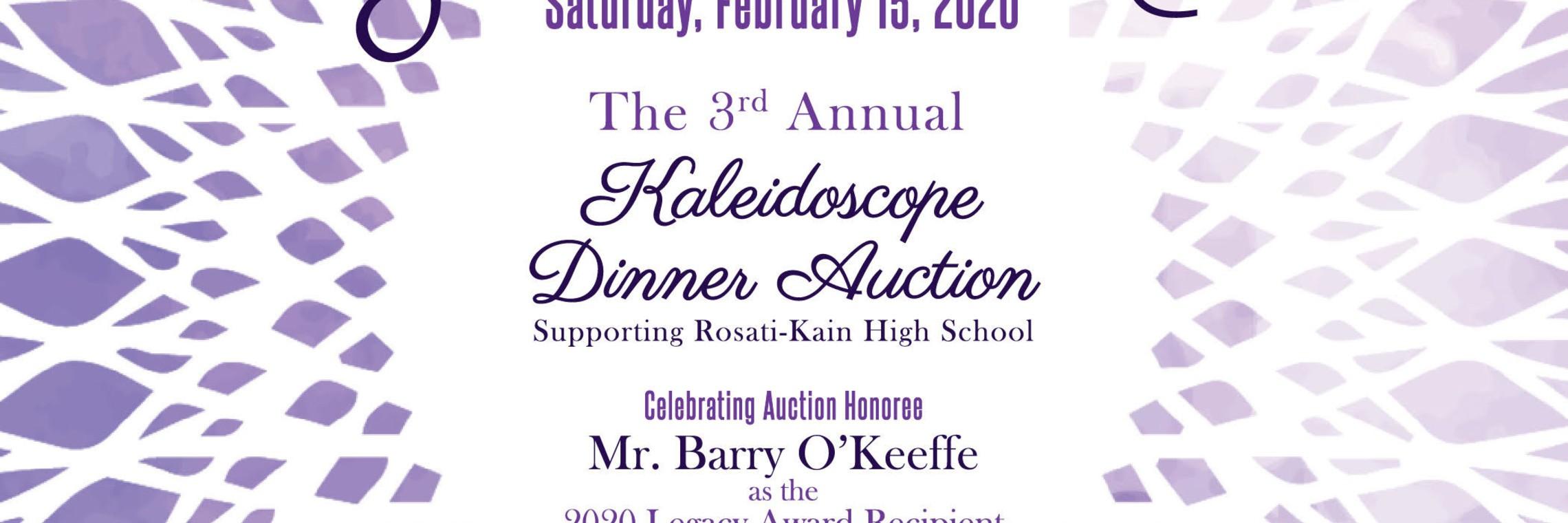 Kaleidoscope Dinner Auction
